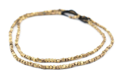 Brass Diamond Cut Beads (2.5mm) - The Bead Chest