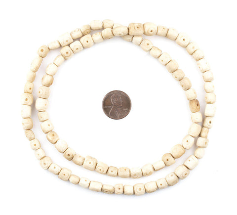 Nigerian Camel Bone Beads (Nugget) - The Bead Chest