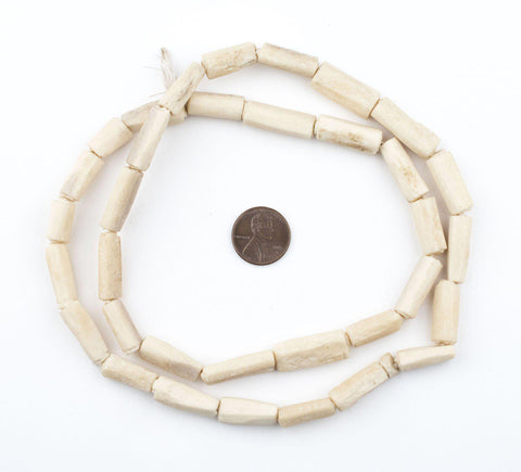 Nigerian Camel Bone Beads (Tube) - The Bead Chest