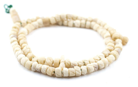 Nigerian Camel Bone Beads - The Bead Chest