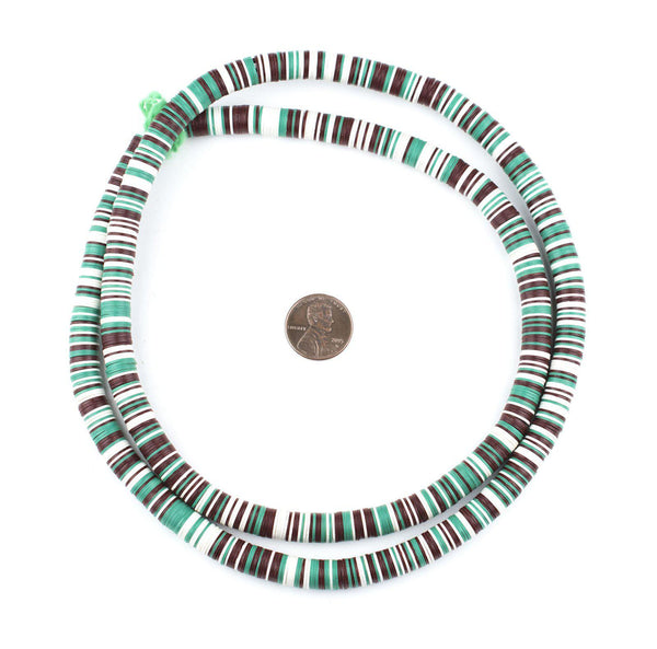 Plant & Earth Medley Vinyl Phono Record Beads (8mm)