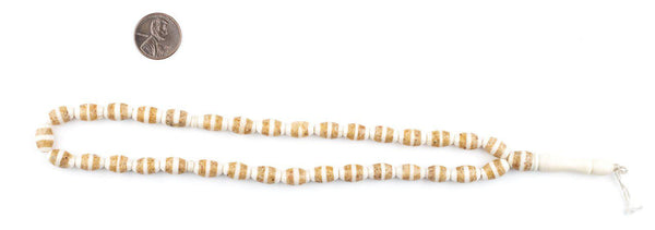 Desert Inlaid Camel Bone Arabian Prayer Beads