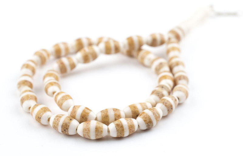 Desert Inlaid Camel Bone Arabian Prayer Beads - The Bead Chest