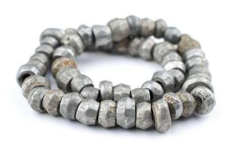 Image of Old Mursi Recycled Aluminum Beads - The Bead Chest