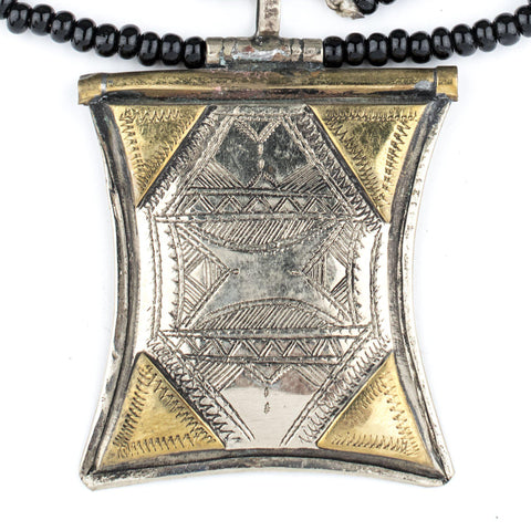 Image of Tuareg Talisman Amulet (Criss Cross) - The Bead Chest
