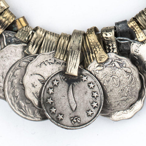 Image of Vintage Afghani Coin Bunch - The Bead Chest