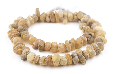 River Amber African Trade Beads - The Bead Chest