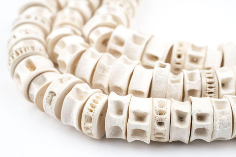 Fish Bone Beads (12-16mm) - The Bead Chest