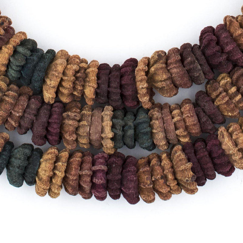 Multicolor Aromatic Moroccan Eucalyptus Beads - The Bead Chest