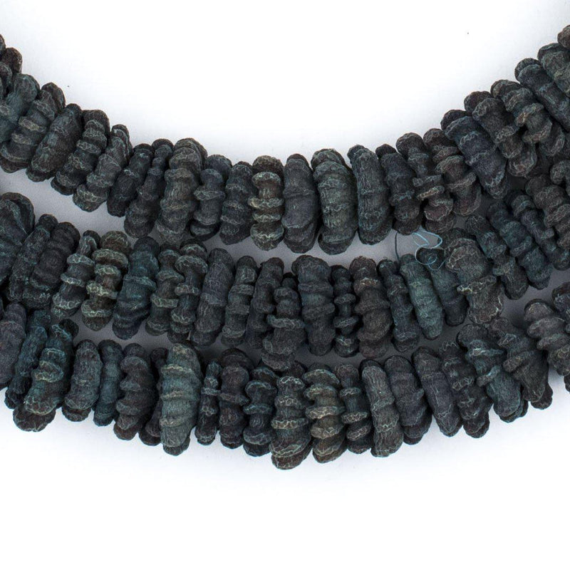 Green Aromatic Moroccan Eucalyptus Beads - The Bead Chest