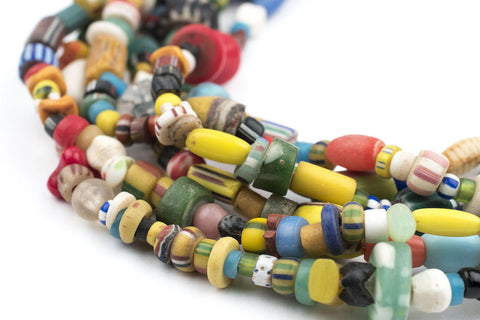 Assorted Antique African Trade Beads - The Bead Chest
