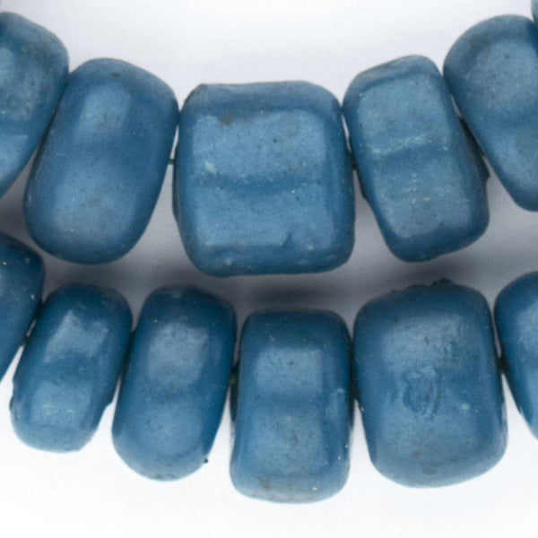 Teal Moroccan Resin Beads - The Bead Chest