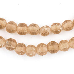 Rose Ancient Style Java Glass Beads (9mm)