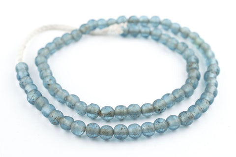 Image of Light Blue Ancient Style Java Glass Beads (9mm) - The Bead Chest