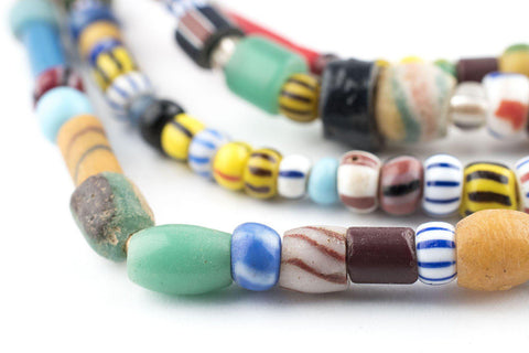 Image of Mixed Vintage Christmas Beads (Cape Coast Medley) - The Bead Chest