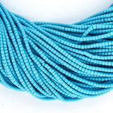 Turquoise Blue Afghani Tribal Seed Beads