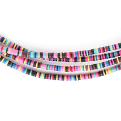 Multicolor Vinyl Phono Record Beads (3mm)