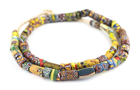 Image of Antique Venetian Millefiori African Trade Beads - The Bead Chest