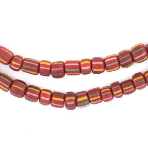 Image of Ghana Red Java Gooseberry Beads - The Bead Chest