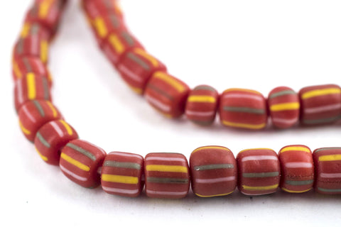 Ghana Red Java Gooseberry Beads - The Bead Chest