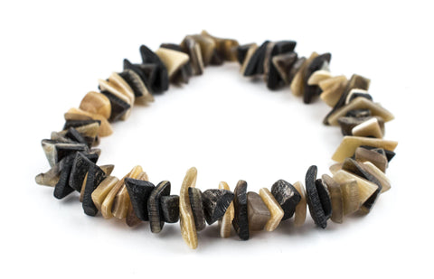 Image of Sliced Natural Horn Beads - The Bead Chest
