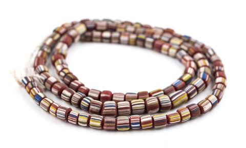 Image of Maroon Java Gooseberry Beads - The Bead Chest
