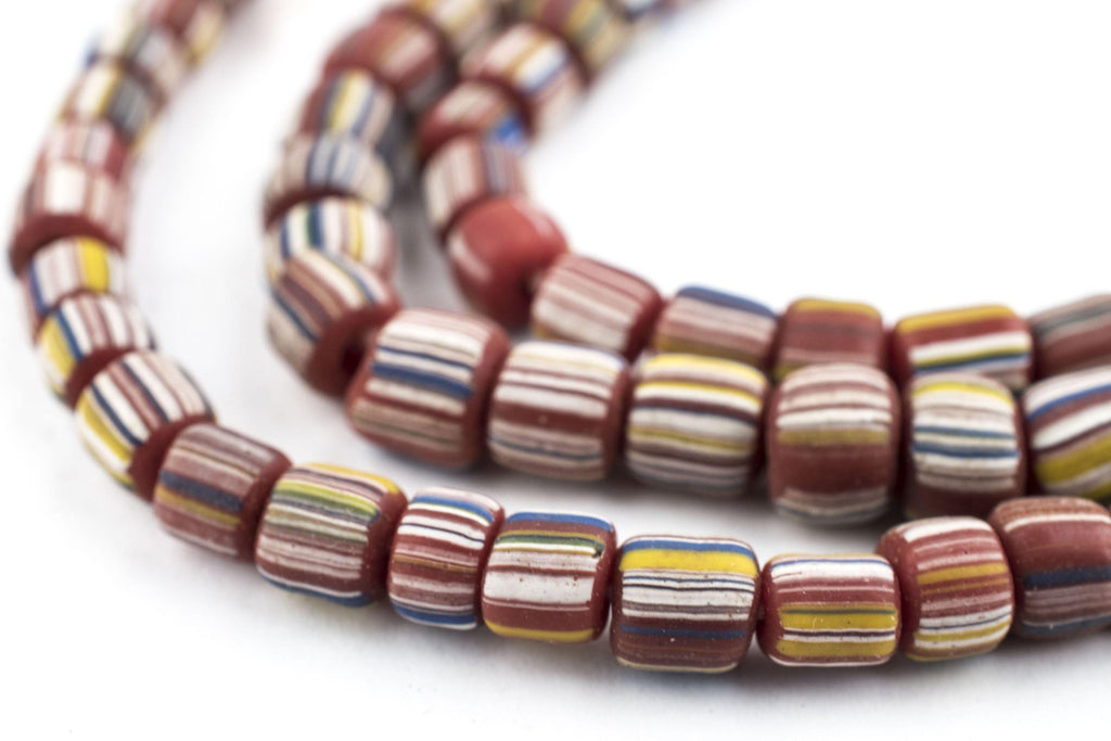 Maroon Java Gooseberry Beads - The Bead Chest