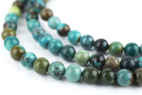 Round Turquoise Beads (6mm) - The Bead Chest