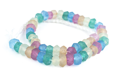 Candy Mix Recycled Java Sea Glass Beads - The Bead Chest