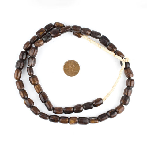 Image of Brown Kenya Bone Beads (Small) - The Bead Chest
