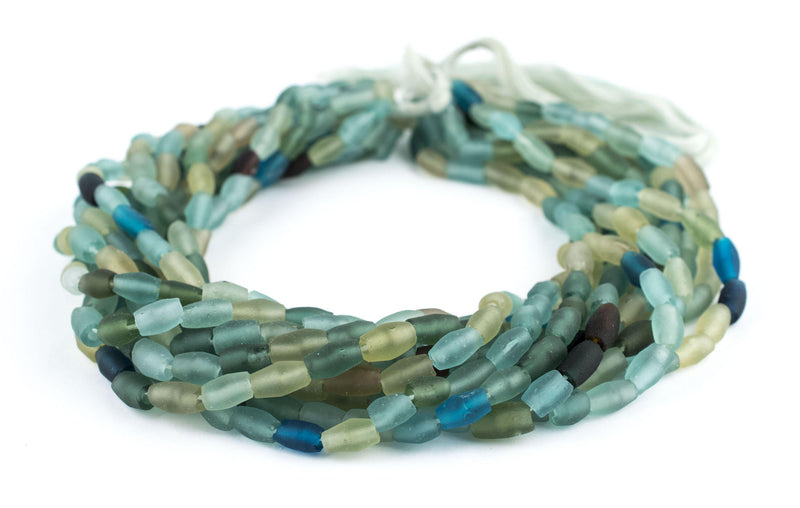 Oval Ancient Roman Glass Beads - The Bead Chest