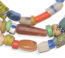 Old Mixed Glass Trade Beads (Small)