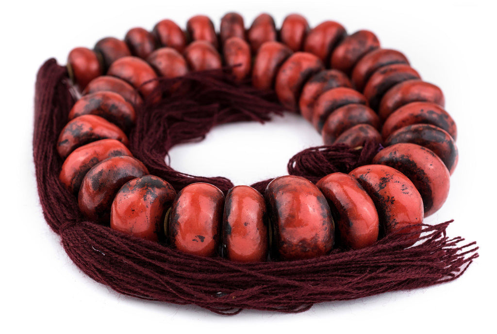 Moroccan Cherry Amber Resin Beads (Extra Large) - The Bead Chest
