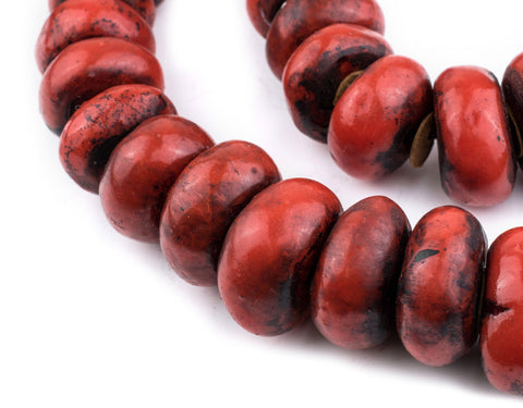 Image of Moroccan Cherry Amber Resin Beads (Extra Large) - The Bead Chest