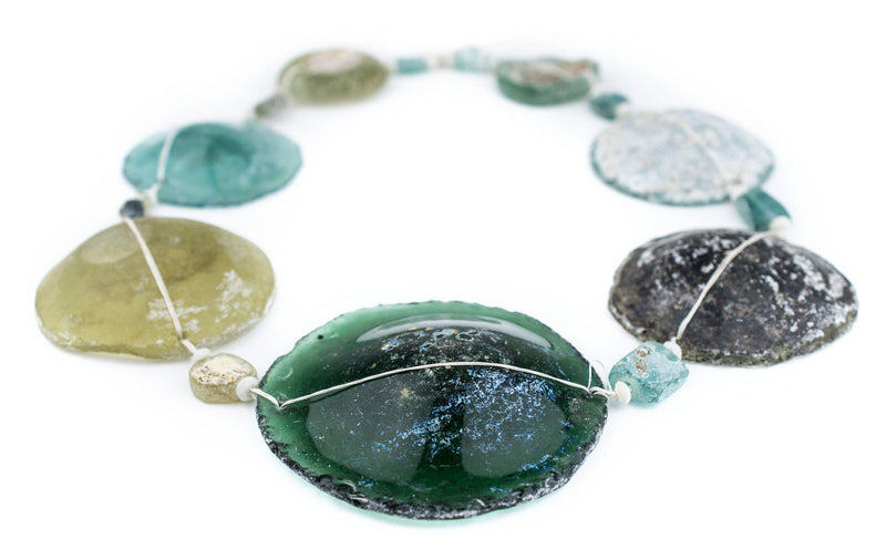Super Jumbo Roman Glass Beads