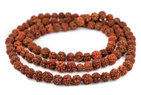 Image of Rudraksha Mala Prayer Beads (18mm) - The Bead Chest