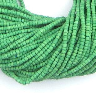 Green Afghani Tribal Seed Beads - The Bead Chest