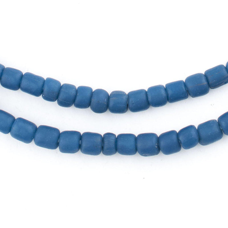 Ocean Blue Java Glass Beads - The Bead Chest