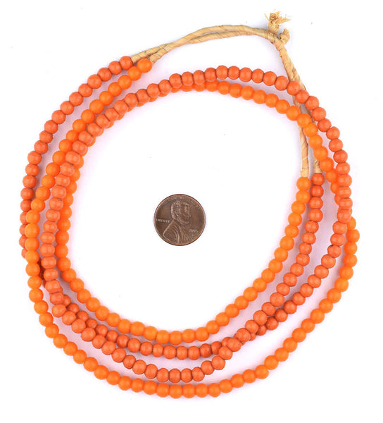 Orange Baby Padre Olombo Beads