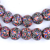 American Fused Recycled Glass Beads (12mm)