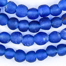Azul Recycled Glass Beads (7mm) - The Bead Chest