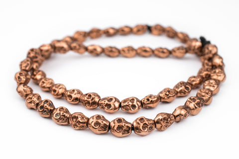 Copper Skull Beads (14x12mm) - The Bead Chest
