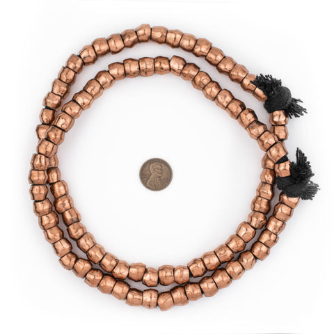 Image of Copper Mursi Ring Beads (10mm) - The Bead Chest