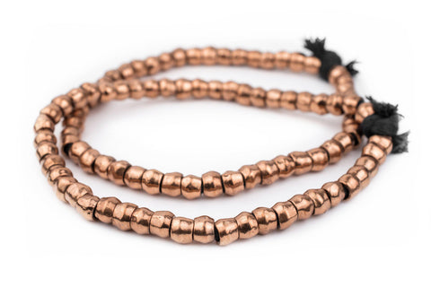 Copper Mursi Ring Beads (10mm) - The Bead Chest