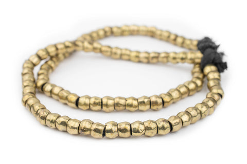 Brass Mursi Ring Beads (10mm) - The Bead Chest