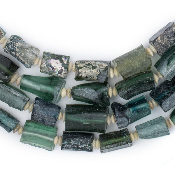 Rectangular Ancient Roman Glass Beads - The Bead Chest