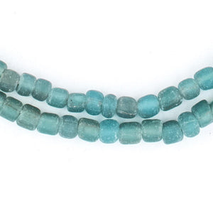 Clear Marine Java Glass Beads - The Bead Chest