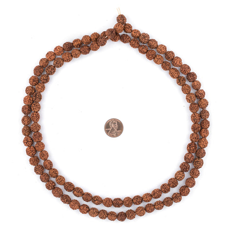 Rudraksha Mala Prayer Beads (10mm) - The Bead Chest