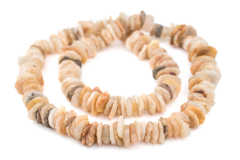 Ancient Dogon Quartz Beads (Long Strand) - The Bead Chest