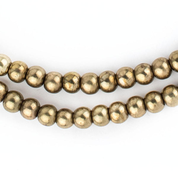 Brass Sphere Beads (6mm) - The Bead Chest